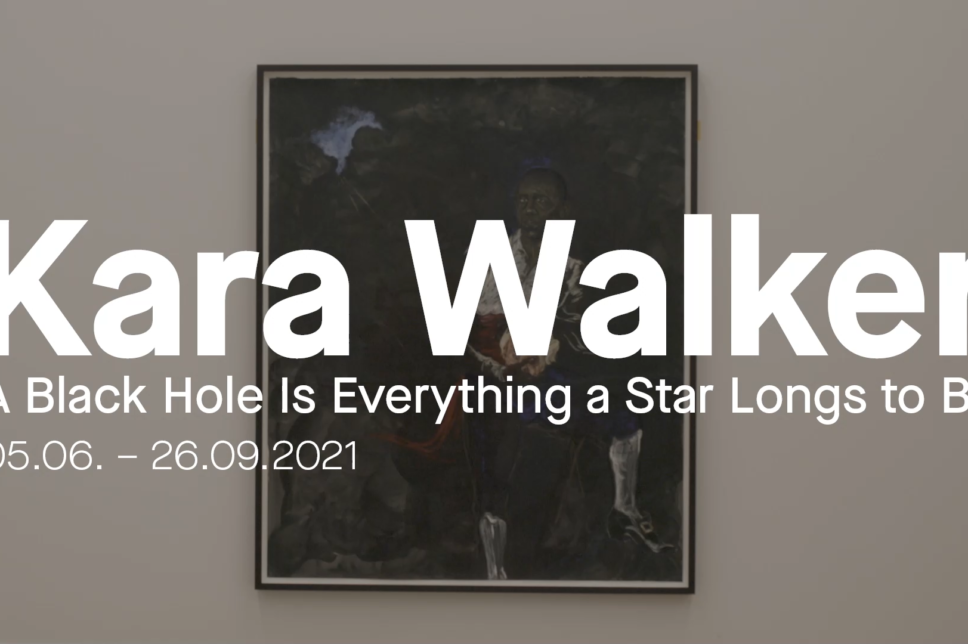 KARA WALKER. A BLACK HOLE IS EVERYTHING A STAR LONGS TO BE.